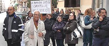 proteste Bari copia