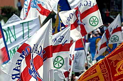 Lega Nord bandiere