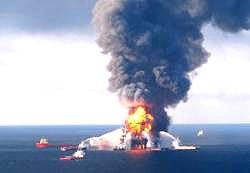 piattaforma petrolifera Louisiana