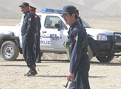polizia afghanistan