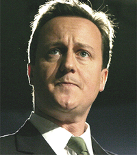 BRITAIN-POLITICS-CONSERVATIVES-ENVIRONMENT-CAMERON