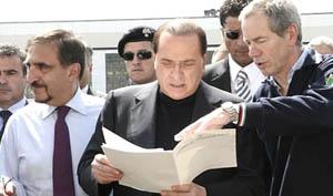 Aquila Berlusconi Bertolaso