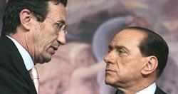 Fini e Berlusconi