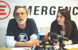 Gino e Cecilia Strada
