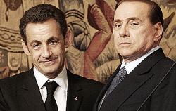 Sarkozy e Berlusconi