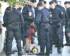 banlieue polizia
