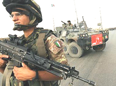 Afghanistan italiani checkpoint
