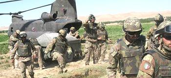 Afghanistan italiani elicottero