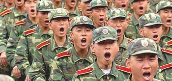 Cina esercito