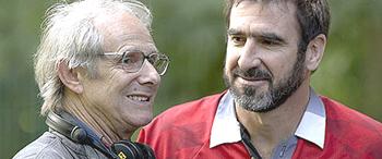 Eric Cantona con Ken Loach