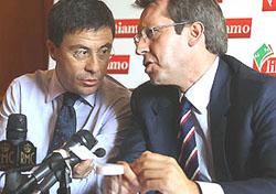Italo Bocchino e Benedetto Della Vedova