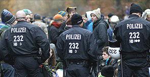 Germania scontri nucleare