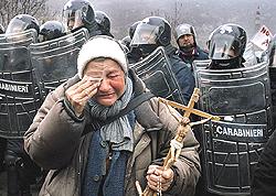 No Tav scontri 2005 (foto Stefano Snaidero)