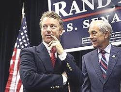 Rand e Ron Paul