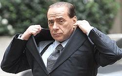 Silvio Berlusconi giacca