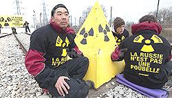nucleare protesta Greenpeace