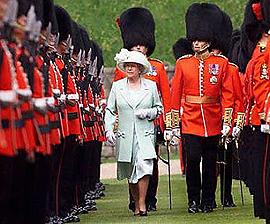 regina e guardie