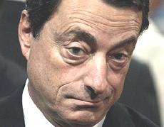 Mario Draghi, governatore di Bankitalia