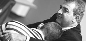 Pino Masciari col figlio