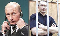 Putin e Khodorkovsky