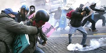 Roma scontri 20