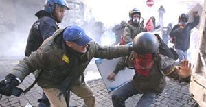 Roma scontri 23