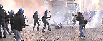 Roma scontri 42