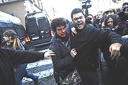 Roma scontri 43