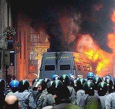 Roma scontri 44