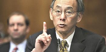 Steven Chu, ministro Usa dell'Energia