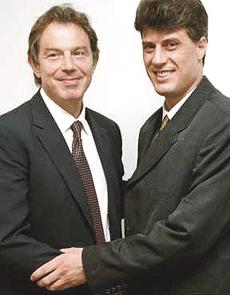 Thaci con Tony Blair