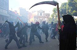 scontri Palermo 3