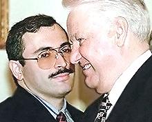 Khodorvoksky con Eltsin