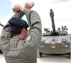 Kosovo soldati italiani