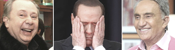 Mora Berlusconi Fede