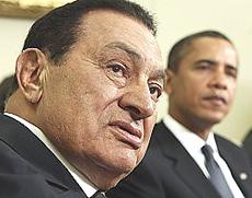 Mubarak e Obama