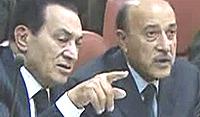 Mubarak e Suleiman