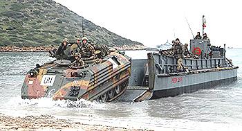 Sardegna mezzi sbarco