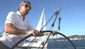 Simone Perotti barca