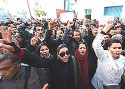 Tunisi rivolta 1