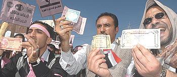 Yemen protesta