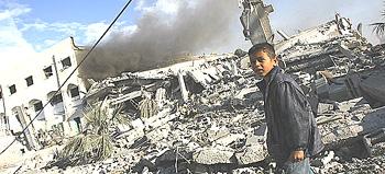 Gaza devastazione