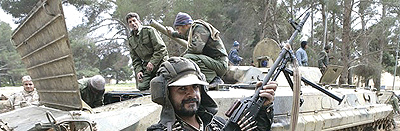 Libia soldati contro Gheddafi