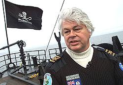 Paul Watson fondatore di Sea Shepherd