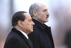 Berlusconi e Lukashenko