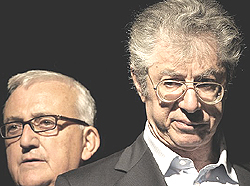 Bossi e Borghezio