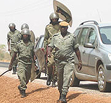 Burkina Faso polizia