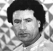 Gheddafi giovane