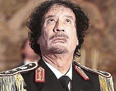 Gheddafi in Italia