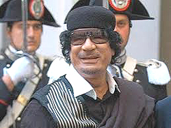 Gheddafi visita a Roma